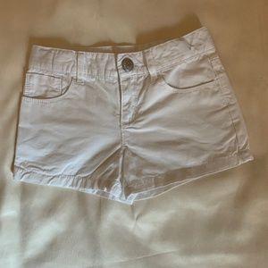 Gymboree Girl's White Denim Shorts